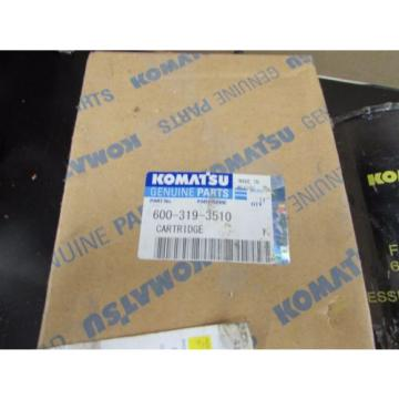 NOS Cuba  NEW GENUINE KOMATSU HYDRAULIC FILTER 600-319-3510