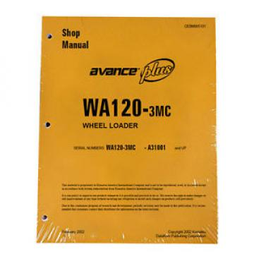 Komatsu Guyana  WA120-3MC Wheel Loader Service Repair Manual #1