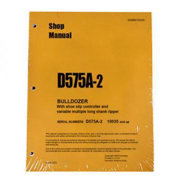 Komatsu Andorra D575A-2 Service Repair Workshop Printed Manual #2