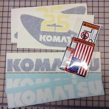 ANY Samoa Western  Komatsu Forklift FULL Decal/Sticker Kit