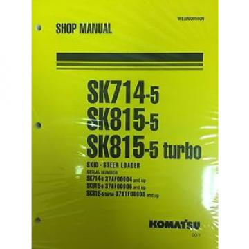Komatsu Botswana Service SK714-5, SK815-5, SK815-5 Turbo Manual