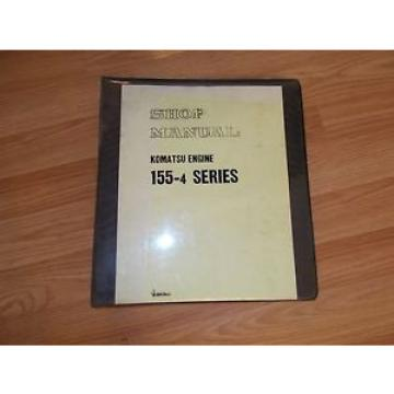KOMATSU Hongkong  155-4 SERIES  ENGINE SHOP MANUAL 10011-up