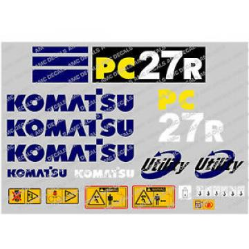 KOMATSU Andorra  PC27R DIGGER DECAL STICKER SET