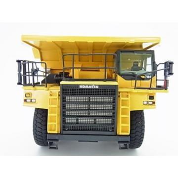 New! Burma Komatsu 785-7 yellow dump truck diecast model 1/50 NZG f/s from Japan