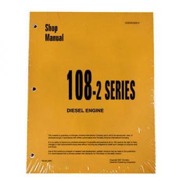 Komatsu Samoa Eastern  Engine 6D108E-2 ALL 108-2 Series Service Manual