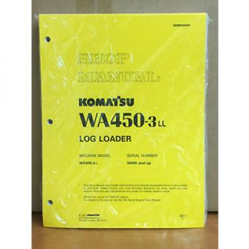 Komatsu United States of America  WA450-3LL Log Loader Shop Service Repair Manual