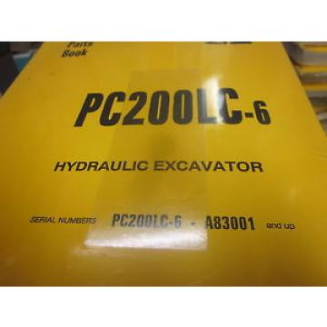 Komatsu Guinea  PC200LC-6 Hydraulic Excavator Parts Book Manual