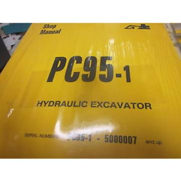 Komatsu Samoa Eastern  PC95-1 Hydraulic Excavator Repair Shop Manual