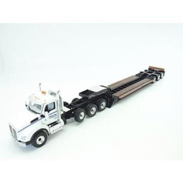 New! Suriname  Komatsu Kenworth Track T880 trailer set 1/50 First Gear f/s from Japan