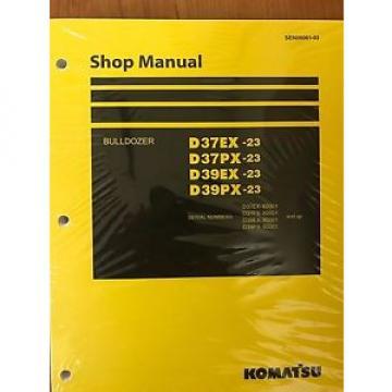 Komatsu Liechtenstein D39EX-23 D39PX D37EX D37PX Dozer Bulldozer Shop Repair Service Manual