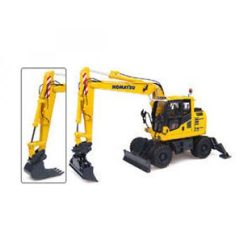 Komatsu Barbados  PW148-10 Wheeled Excavator - 1:50 Scale by Universal Hobbies