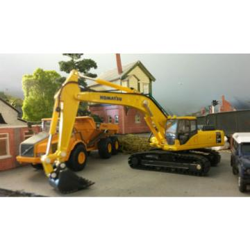 Komatsu Slovenia  PC340 360 Tracked Excavator Digger 1:76 HO/OO/00 Oxford Model Boxed