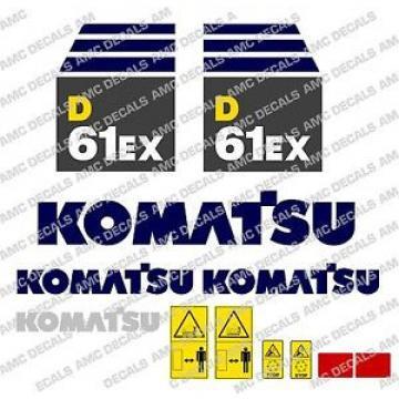 KOMATSU Moldova,Republicof D61EX JUEGO DE CALCOMANÍAS