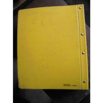 OEM Andorra Komatsu D65E EX-12 D65P PX-12 Crawler Parts Catalog Book