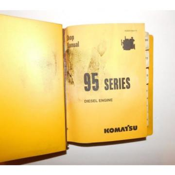 KOMATSU Russia  95 Series Diesel Engine Shop Service Repair Parts Owners Manual