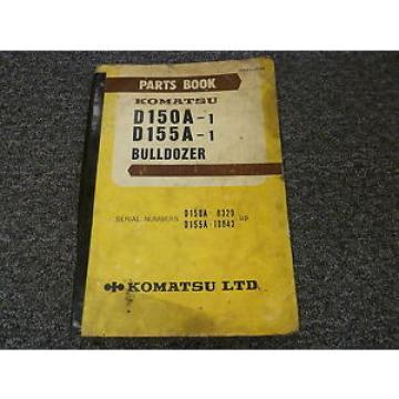 Komatsu Moldova,Republicof D150A-1 D155A-1 Bulldozer Dozer Parts Catalog Manual