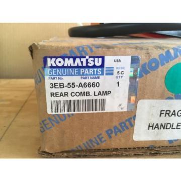 NIB Honduras Komatsu Rear Combination Lamp (Rear Tail Light) P/N 3EB-55-A6660