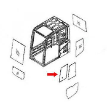 20Y-54-52850 Cuinea Front Door Slider Glass fits Komatsu Excavator PW130-7K PC120-7