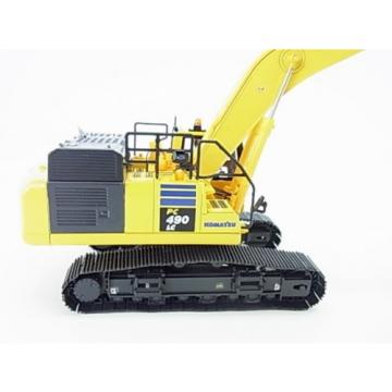 New! Fiji  Komatsu hydraulic excavator PC490LC-10 Diecast model 1/50 f/s from Japan
