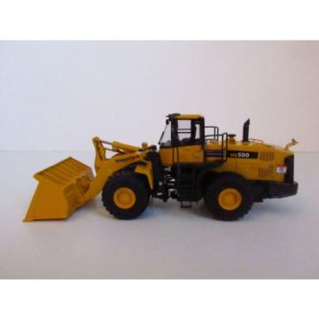 NIB Swaziland  CMC Komatsu WA 500-6 loader - Brass - 1/87 - ONLY 145 MADE - #14045