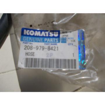 KOMATSU CostaRica  HOSE, PART NO 208-979-8421 Genuine Replacment