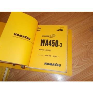 Komatsu Netheriands WA450-3MC A31001~UP PARTS OPERATION & MAINTENANCE MANUAL WHEEL LOADER
