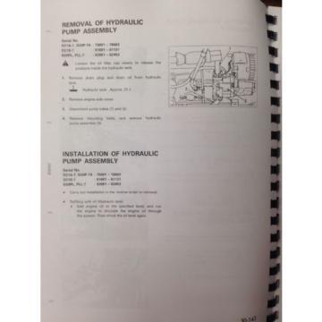 Komatsu Liechtenstein D20P-7 D21A-7 D21PG-7A Dozer Shop Service Repair Manual SEBM001408