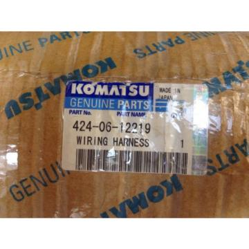 Genuine Liberia  Komatsu Wiring Harness Pt# 424-06-12219 Applicable To WA700-3