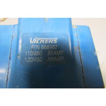 Vickers Rep. 868982 Coil 110/120 50/60