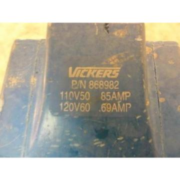 32967 Slovenia Used, Vickers  868982 Solenoid Coil 085-069A 110-120V