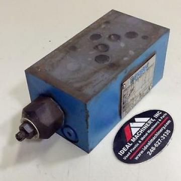 Vickers Russia Pressure Reducing Module DGMX25PPCW21 Used #75908