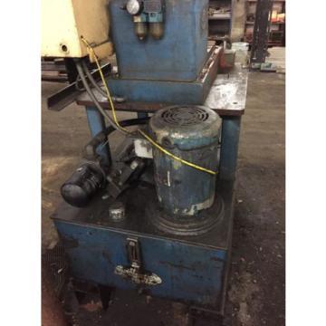 Goebel Denmark 6 Ton C-Frame Hydraulic Press Vickers Hydraulic Units AB Plc Multipress