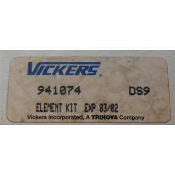 Sperry Slovenia Vickers 941074 Filter Element Kit