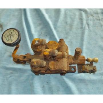 Vickers SamoaEastern Hydraulic Equipment Capstain Control Valve 406110, for parts or rebuild
