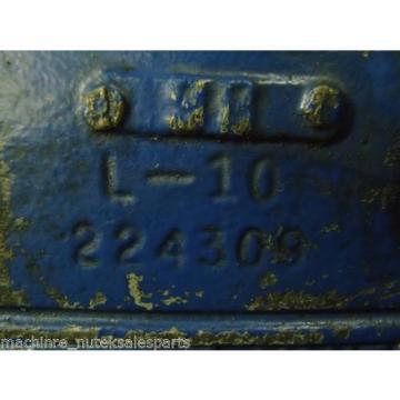 Vickers Malta Vane Pump L-10 224309 L10 Hydraulic Oil Vain L10224309