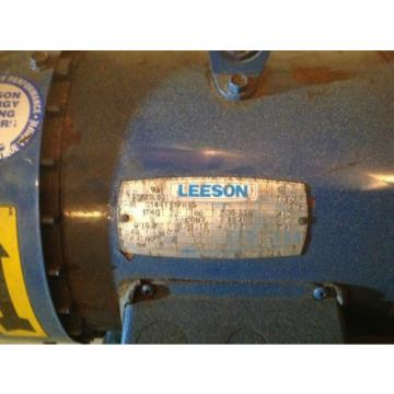 5hp Liberia vickers hydraulic power pack unit 3 phase leeson motor