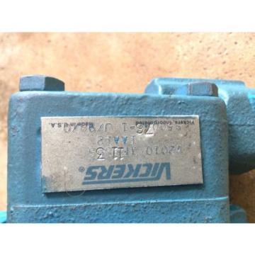 Origin Botswana VICKERS V2010 HYDRAULIC PUMP MOTOR V20101F11S3S1AA12