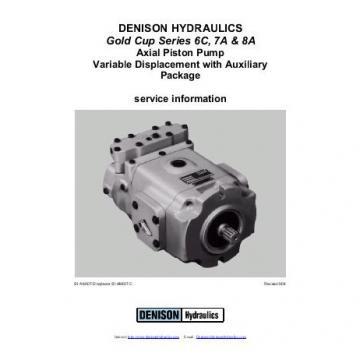 Dension Canada gold cup piston pump P30L-3R1E-9A8-A0X-B0
