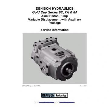 Dension Jamaica gold cup piston pump P30L-3R1E-9A8-B0X-B0