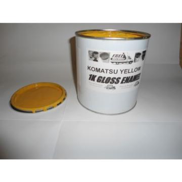 Komatsu UnitedStatesofAmerica Machinery Yellow Gloss paint 1 Litre