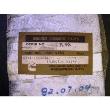 2 Iran - Komatsu D85P-18 Cummins NT 855 Fuel Injector Assemblies - NOS In Packages
