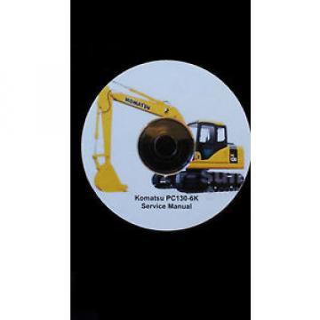 KOMATSU Liechtenstein PC130-6K EXCAVATOR SERVICE MANUAL ON CD *FREE POSTAGE*