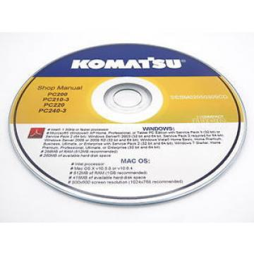 Komatsu Liechtenstein  PC15MRX-1 Hydraulic Excavator Shop Workshop Repair Service Manual