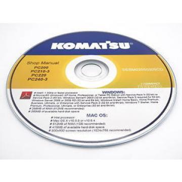 Komatsu Russia CK20-1 Crawler Skid-Steer Track Loader Shop Repair Service Manual