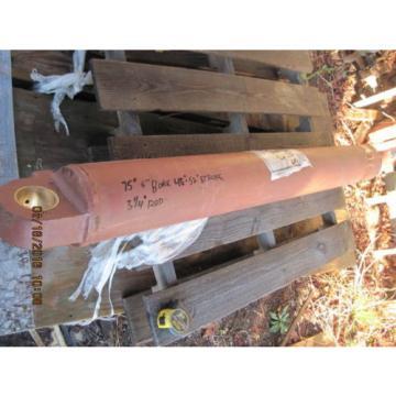 """Komatsu Gambia dresser model H100C loader hydraulic cylinder 6""""x 48"""""""
