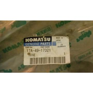 KOMATSU Moldova, Republic of  genuine part # 17A-49-17321 PART NAME HOSE