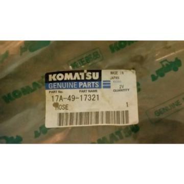 KOMATSU Moldova,Republicof genuine part # 17A-49-17321 PART NAME HOSE