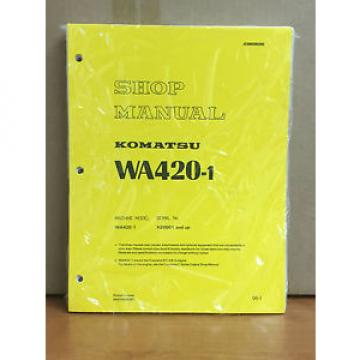 Komatsu Denmark WA420-1 Wheel Loader Shop Service Repair Manual