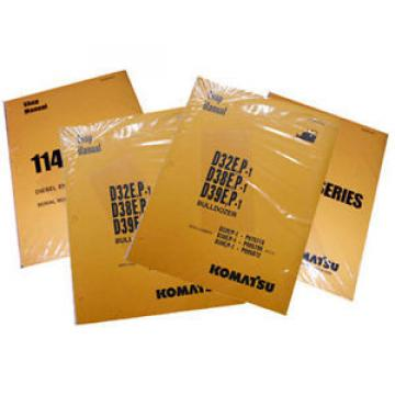 Komatsu Luxembourg  Bulldozer D87E-2, D87P-2 Series Service Repair Printed Manual