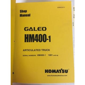 Komatsu Bulgaria  HM400-1 Articulated Truck HM400-1 1001 And Up
